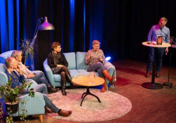 Foredrag og samtale om demens