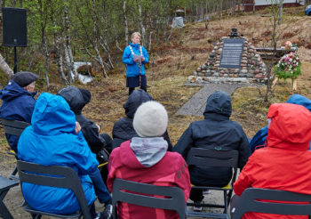 Minnemarkering i Sokkelvik