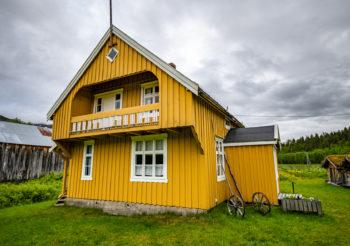 Fredning av Tørfoss kvengård, Kuivakoski