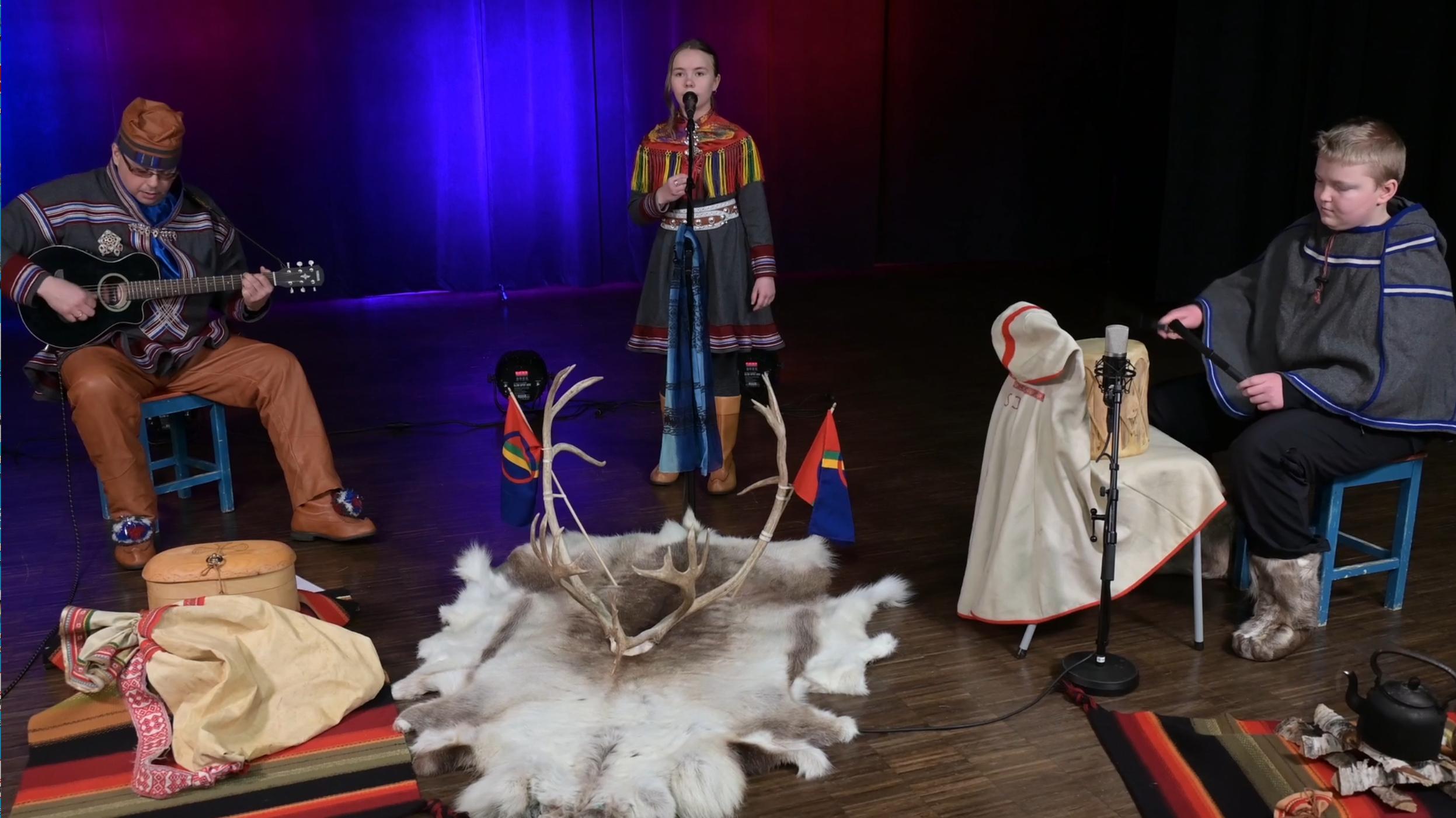 Nordreisa kulturskole feirer samenes nasjonaldag