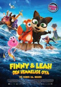 Finny & Leah - Den hemmelige øya (norsk tale)